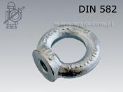 Lifting eye nut DIN 582
