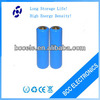 rechargeable high capacity 1800mah 18650 batteries