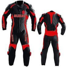 Suzuki Motor Bike Leather Suit