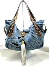 good design hot selling in Japan market cute women bag made of denim