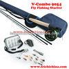 Wholesale V-combo 9054 starter fly fishing combo