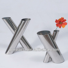 customied metal purple vases cheap