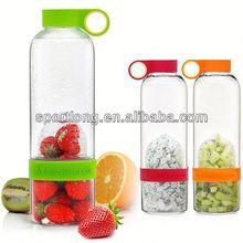 2014 hot selling lemon 500ml pet water bottles in Korea