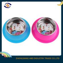 stainless steel pet bowl/plastic dog pet bowls