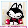 OEM plush cat toys /custom plush cat toy