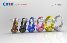 2014 wired stylish dj headphones with factory price