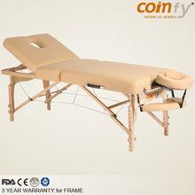 COMFY CFMS03RF Portable Wooden Massage Table