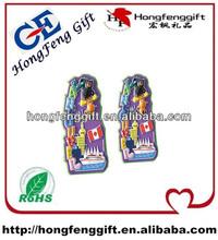 high quality tourist souvenir fridge magnet/custom fridge magnets