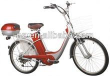 250W steel electric bike with lead acid battery