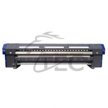 Golden oversea service with head for 1.8meters small size printer DX7 ECO solvent indoor digital flex printing machine price