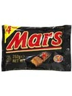 MARS FUNSIZE - SOFT NOUGAT AND CREAMY CARAMEL COVERED IN THICK MILK CHOCOLATE (14 PIECES)