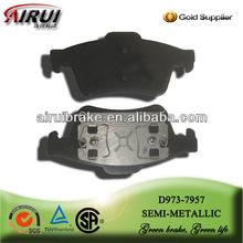 D973 non-asbestos semi-metal Pastiglie Freno for Ford/mazda/volvo