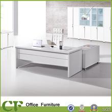 CF-B02 Italian design white high gloss office desk