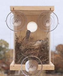 wood plastic composite spy birdhouse