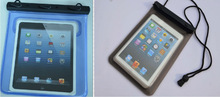 Factory !! Tavling /swimming 100% waterproof case for ipad mini, waterproof bag ,waterproof case for 7.9""