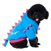 fleece dinosaur costume fashionable pet clothes for dogs