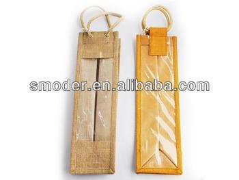 wine bottle tote bag