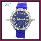 Fashional attractive japan movt diamond quartz watch 3atm waterproof japan/china movert custom your logo
