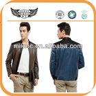 Cool Popular Stitching Motorcycle Lamb Leather Jacket