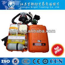 portátil de presión positiva de oxígeno un aparato de respiración
