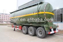 45m3 Trial Axle Steel Bulk Cement Powder Semi Trailers, Concrete Mixer Semi Trailer