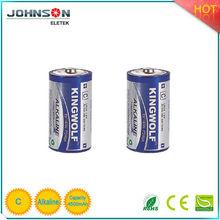 Environmental 1.5v C alkaline parts dry cell battery