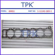 Isuzu 6WG1 Complete Top End Engine Gasket Kit, 6WG1-TC engine gasket set 1-87812-144-0