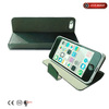 full protective case for apple's iphone 5 flip and stand with magnet closed