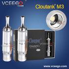 Pyrex glass dry herb atomzier cloutank m3 vaporizer big vapor electronic cigarette ego-t