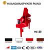 Digital Piano 88 keys Red Polish Digital Grand Piano HUANGMA HD-W100 red grand digital piano church organs