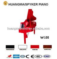 Digital Piano 88 keys Red Polish Digital Grand Piano HUANGMA HD-W100 red grand digital piano white guitar