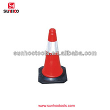 67-200-02 Safety Road Cone with Reflective strap