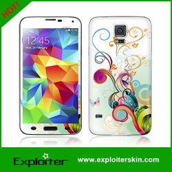 decorative skin Sticker phone skin factory for samsung s5