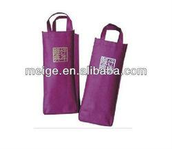 Eco-friendly wine bag/Gift wine bag/felt christmas wine bottle bag