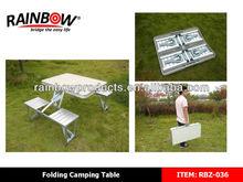RBZ-036 Camping,Garden portable folding table and chair set