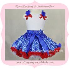 High Quality Royal Blue And White Wedding Dresses