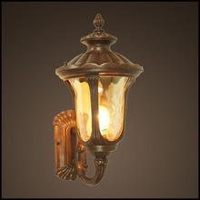 Antique Brass outdoor garden wall lighting with CE ETL (HS2004-UP-S)