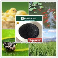 Huminrich Shenyang Humate 100PCT+55HA NA Humate poultry feed formula