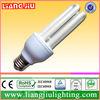 zhongshan 3u energy saving light 10000/8000/6000Hrs PBT/PC CE RoHS T3 tube energy saving light