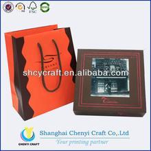 supply customized high quality chocolate box wine