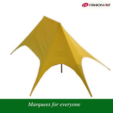 double star shaped tent, star marquee, star shade shelter