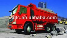 sinotruk standard dump truck dimensions