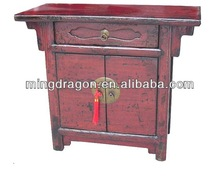 antique oriental style -chinese antique furniture / wood carved cabinet