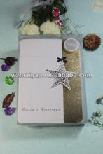 2014 Glitter powder greeting cards