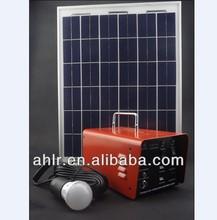 Hot sell DC solar home lighting kit