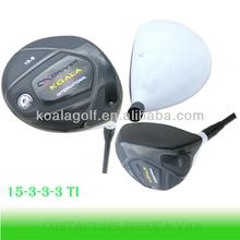Titanium Casting Golf Driver Head with new adjustable design