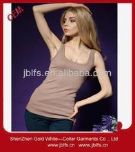 OEM women's custom body fitting long vest