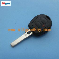 best price VW Gol 2 button remote key shell,car remote control case,key blanks wholesale,blank key