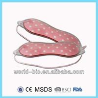 Gel eye heating pads