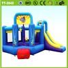 Vivid design inflatable bouncer slide for kids